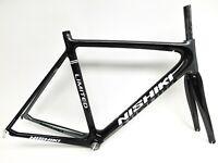 2012 Nishiki Limited Carbon Fiber Road Bike Frame Fuji Fork 12k 56cm 700c #0123
