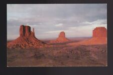 Monument Valley Lofty palisades towering peaks Mitten Buttes Arizona-UT postcard