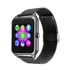 Bluetooth Smartwatch Unlocked Watch Phone for Android Samsung BlackBerry Nokia
