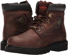 New in Box Harley Davidson Men's Brown Bayport 7-Inch Work Boots Size 12 93365