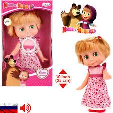 Masha And The Bear Toys Masha Doll - Talking Doll Russian Language Talking