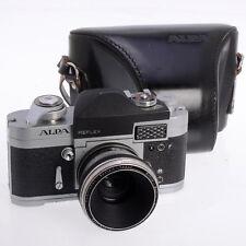 Alpa Silver Model 6c 35mm Film Swiss SLR w RARE 4cm F2.8 Kilfitt Makro Lens