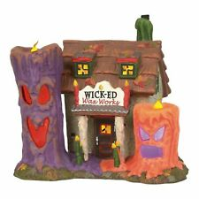 Department 56 Snow Village Halloween Wicked Wax Works 6003160 Spooky Candles