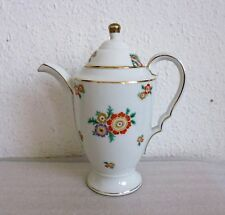 Alte Kaffeekanne aus Porzellan