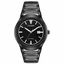 Citizen AW1558-58E Men's Paradigm Black Eco-Drive Watch