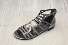 Marc Fisher Partner 2 Gladiator Sandals, Women's Size 7.5M, Pewter NEW