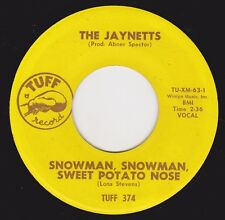 "JAYNETTS - ""SNOWMAN  SNOWMAN SWEET POTATO NOSE""   - VOCAL / INSTRUMENTAL  (M-)"