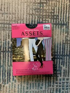 NEW! Assets By Spanx Maternity Tights Black Marvelous Mama Size 1