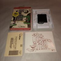Commodore 64 Computer Game Cartridge BC'S QUEST FOR TIRES Complete CIB UNTESTED