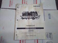 tekken 5 arcade manual