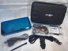 NINTENDO 3DS AQUA BLUE WITH ACCESSORIES £59 UK REGION