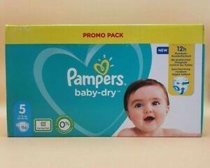 Pampers Baby-Dry Windeln Größe 5 11-16 kg 96 Stück Windeln WE285