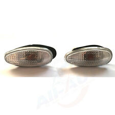 2pc Front Side Turn Signal Lamp Fit For I-Miev Outlander Lancer CU4W CU5W CS6A
