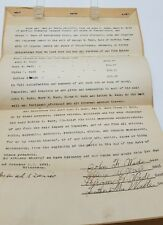 Dauphin County PA, George Wade, 1921 Will  Original Release of Heirs Mifflin Twn