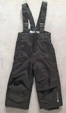 Very Warm Boys Dare2B Ski Trousers, Age 2 (~92cm), Black Salopettes Waterproof