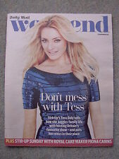 Weekend Mag - Tess Daly, Ian Ogilvy, Jackie Stewart, Jack Donnelly, Brian Conley