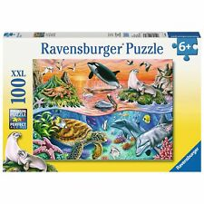 Ravensburger Underwater 100 Piece Jigsaw Puzzle for Kids Age 6 Years Up