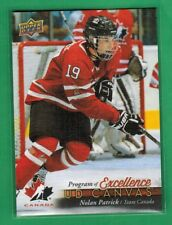 2017-18 UPPER DECK SERIES 2 NOLAN PATRICK PROGRAM OF EXCELLENCE UD CANVAS RC