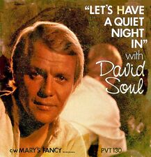 "David Soul ‎– Let's Have A Quiet Night In 7"" NM"