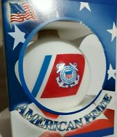 Details about  /United States Coast Guard American Pride Porcelain Christmas Ornament