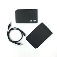 """New 320GB External Portable 2.5"""" USB Hard Drive With Warranty Free Pouch Black"""