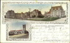 1906 Northwest Corner Campus,Chicago University,IL Cook County Illinois Postcard