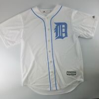 Detroit Tigers MLB Majestic Cool Base 2017 Father's Day Jersey Mens Blue