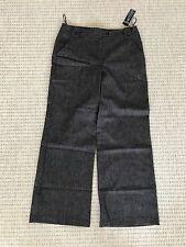 Next Tailored Women's Ladies Smart Wide Leg Trouser ~ Size 12 R ~ Workwear
