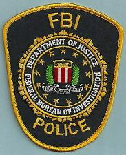 FEDERAL BUREAU OF INVESTIGATION FBI POLICE PATCH