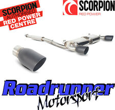 Scorpion Subaru BRZ/Toyota GT86 échappement secondaire CAT BACK res Noir SSU010C