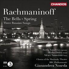 NEW - Rachmaninov: The Bells / Spring / Three Russian Songs, Opp. 20, 35, 41