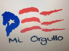 Puerto Rico Mi Orgullo Decals (Sticker)