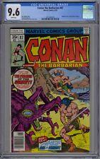 Conan the Barbarian #87 CGC 9.6 NM+ Wp Marvel Comics 1978 Savage Age of Conan
