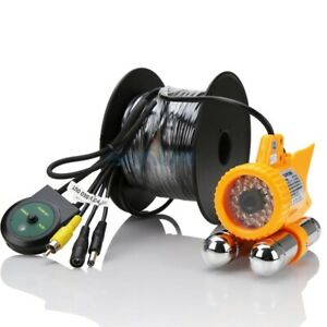 36 LED Fish Finder Underwater Fishing Video 600TVL CCD Camera Nightvision 30M
