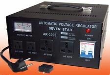 TRANSFORMATEUR STABILISATEUR 3000W RÉVERSIBLE Converter Stabilizer 220v 110v