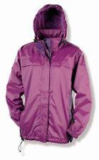 Womens Gelert Deep Purple Burgundy Amazon Rainpod Packaway Jacket Coat Size 18