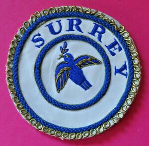 Surrey Past Provincial Grand Deacon undress apron badge masonic