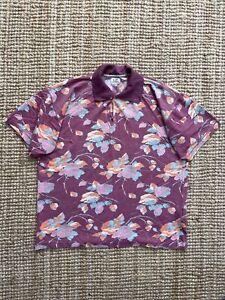 Vintage 80s CP Company Ideas By Massimo Osti Hybrid Polo Shirt Small