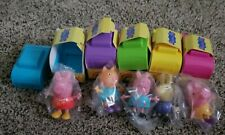 Peppa Pig Blind BoxCar Surprise toy figure camper Richard rabbit candy cat muddy
