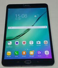 SAMSUNG GALAXY TAB S2 8.0 32GB SM-T715 -BLACK-3G/ 4G/ LTE/ WiFi - UNLOCKED- NICE