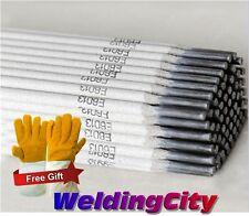 "WeldingCity 10-Lb E6013 1/8"" Stick Welding Electrode Mild Steel Rod Free Gloves"