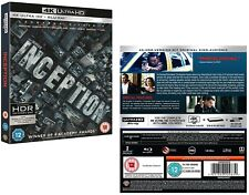 INCEPTION (2018): Action, Sci-Fi - NEW Reg Free 4K UHD Ultra HD + 2D BLU-RAY