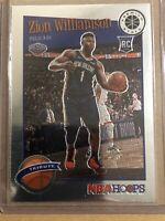 2020 Panini Hoops Premium Stock Zion Williamson Tribute Rookie Pelicans RC
