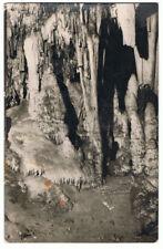 Postal Cueva de Nerja, Málaga. SOM - Cerezo