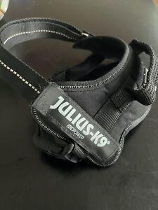 Julius-K9 IDC Powerharness Dog Harness - black, Size Mini