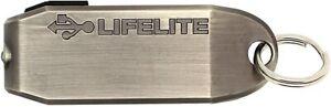 True Utility LifeLite USB Torch 30 Lumen Rechargeable Keyring Flashlight British