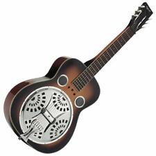 NEW SQUARE NECK DOBRO TYPE RESONATOR LAP STEEL GUITAR + FITTED GIG BAG BY OZARK