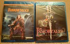 Pack 2 Blu-ray:Los inmortales 4k+Los inmortales 2.El desafío.Lambert y Connery