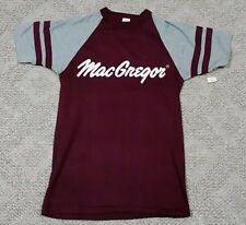 Vintage 70s MacGregor Baseball Raglan Jersey T Shirt S Sports Equipment Golf Tee