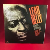 LEADBELLY Sings & Plays 1965 UK vinyl LP EXCELLENT CONDITION